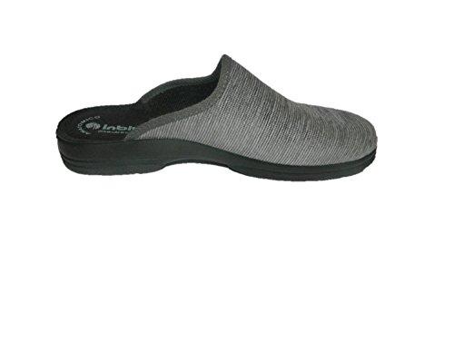 INBLU - Zapatillas de estar por casa para hombre gris gris