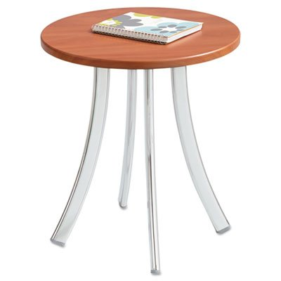 Decori Wood Side Table, Round, 15-3/4