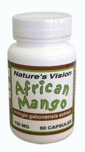 Nature's Vision African Mango (Irvingia gabonensis) - 150 MG - 60 Capsules