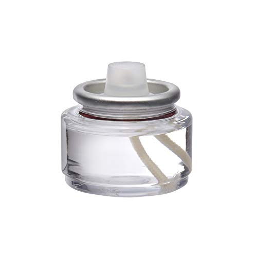 Hollowick 8 Hour Liquid Tealight Disposable Clear Plastic Fuel Cell (180/case) ()