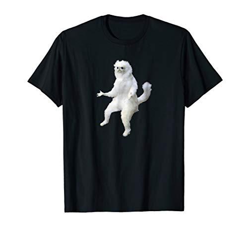 Persian Cat Room Guardian Meme Tshirt ()