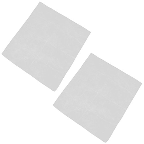 uxcell Fibre Household Bedroom Self-adhesive Replacement Air Conditioner Filter 2pcs