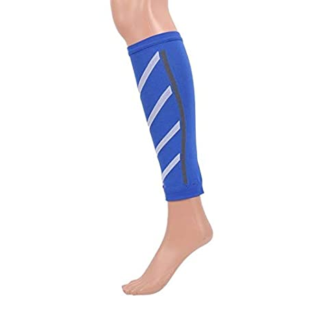 KKJLXX Compresión Deportes Seguridad Calentadores de piernas Capa ...