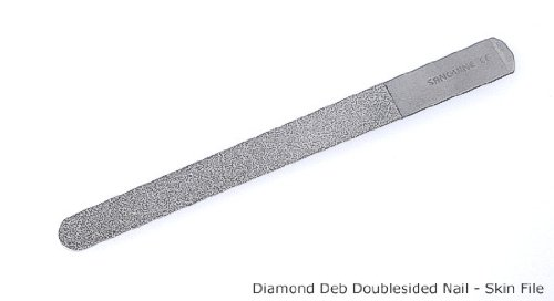 Instruments Gb Diamond File, Stainless Steel 20cm