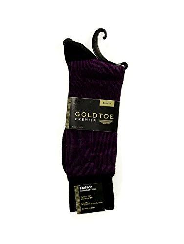 Gold Toe Men's Mad Stripes Sock, 1 Pack