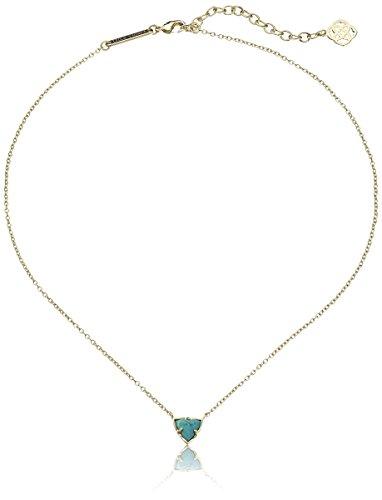 "Kendra Scott ""Via Maya"" Turquoise Perry Pendant Necklace, 15''+2'' Extender"