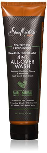 Tea Tree Oil & Shea Butter Havana Hurricane 4-in-1 All-Over Wash