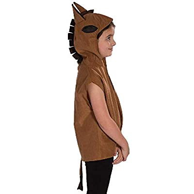 Charlie Crow Horse / Donkey Costume for Kids one Size 3-8 Years: Toys & Games