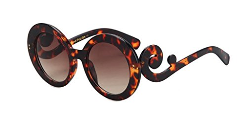 Retro Round Creative Frame All-match Polarized - Shops Designer Outlet At York