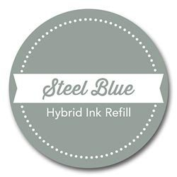 My Favorite Things Hybrid Ink Refill, 0.25-Ounce, Steel Blue ()