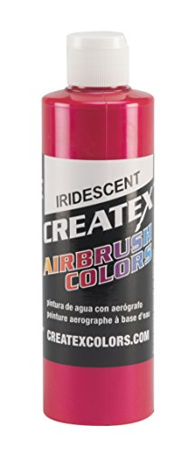 for Airbrush, 8 oz, Fluorescent Red ()