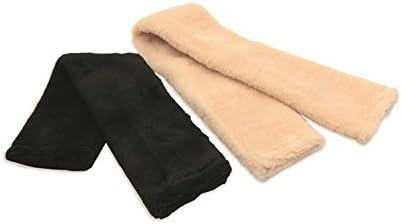 Y-H Hy Fur Fabric Girth Sleeve Brown