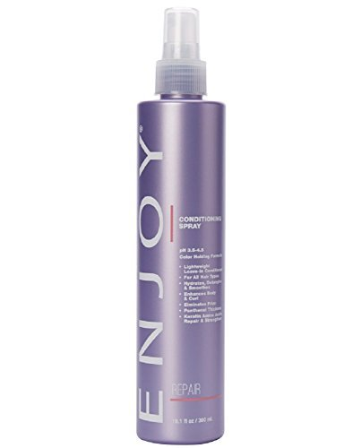 (ENJOY Conditioning Spray (10.1 OZ) – Moisture-Rich, Smoothing, Shine-Enhancing Conditioning Spray)