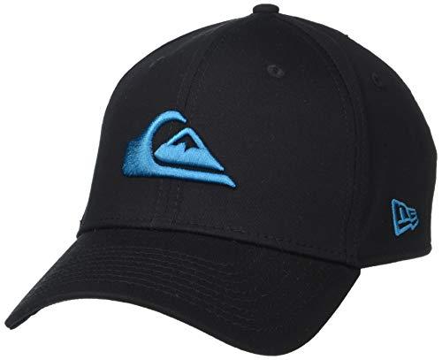 Quiksilver Men's Mountain & Wave Black HAT, f jord Blue, L/XL