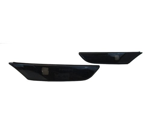 4dr Front Bumper (03-06 Infiniti G35 4DR Sedan Front Bumper Side Marker Lights - Smoke (2003 2004 2005 2006))