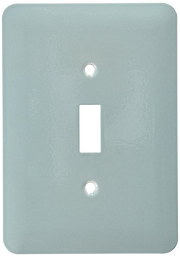 3dRose lsp_159844_1 Plain Mint Blue Solid Color Light Turquoise-Grey-Gray Modern Contemporary Simple Pastel Teal Light Switch Cover