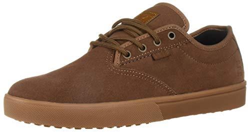 Etnies Men's Jameson SLW Skate Shoe Brown/Gum/Gold 10 Medium US
