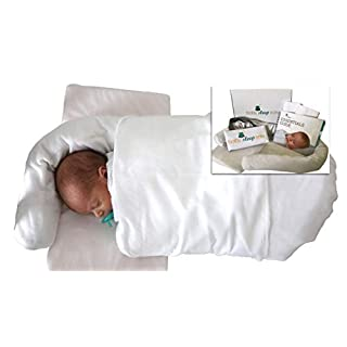 Baby Sleep Easy | Guided Sleep Training System and Newborn Lounger | a NICU Trusted Method | Portable Bed for 0-12 Months | Use for Lounger, Sleep Training, and Tummy Time
