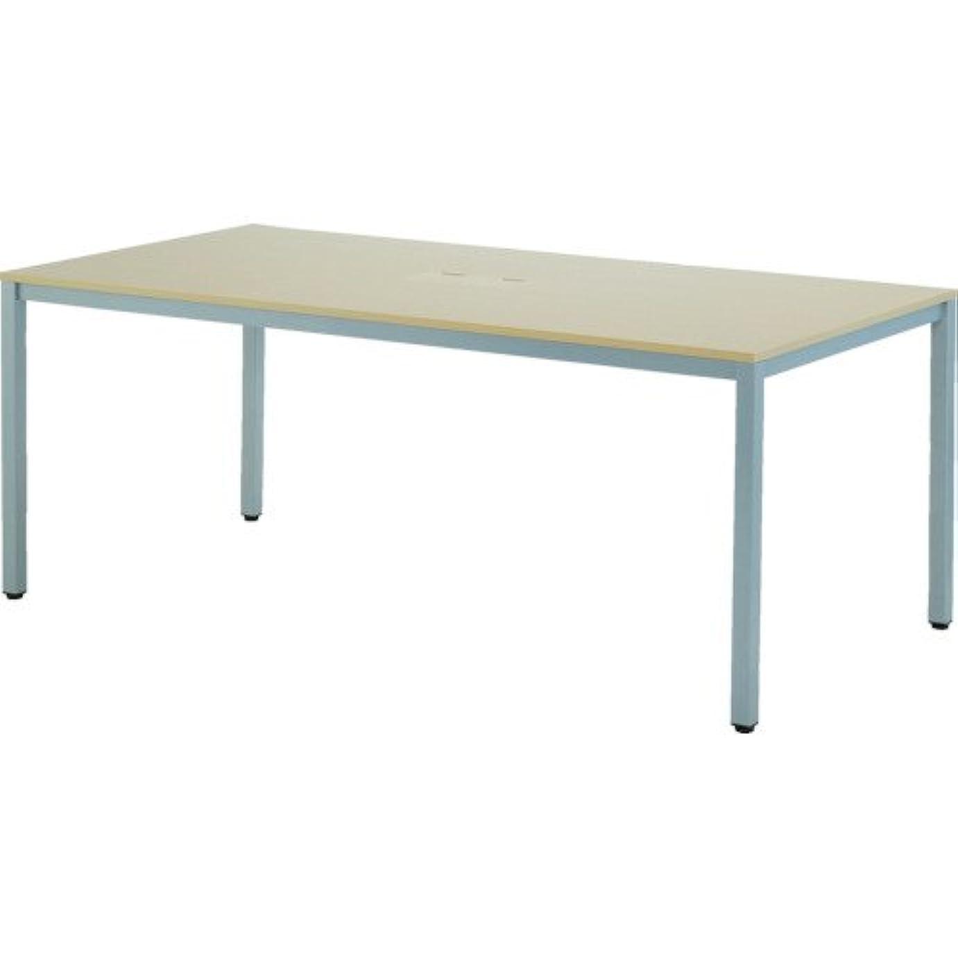 ひどく洗剤取得するサンワダイレクト パソコンデスク 幅140cm×奥行70cm ミーティングテーブル 作業テーブル ホワイト 100-DESK079W
