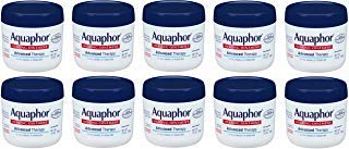 Aquaphor Advanced Therapy Healing Ointment YMyUMS Skin Protectant, 10 Pack (14 Ounce)