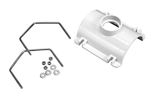 Pvc Saddle (Oatey 43789 PVC Saddle Tee Kit, 3-Inch x 2-Inch)