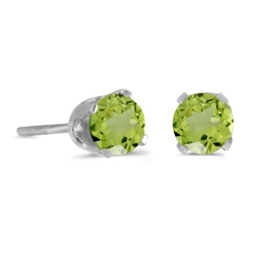 4mm Peridot Satin - 5