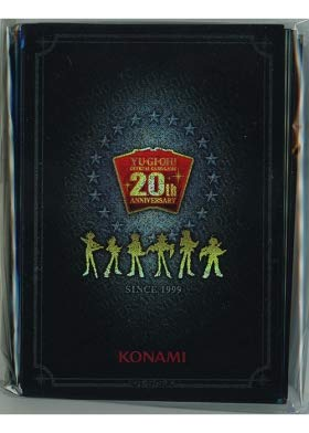 Yu-Gi-Oh / Duelist Card Protectors 100 Pieces (20th Anniversary) / 20th Anniversary Duelist Box (YG-20TH-PR) / A Japanese Single Individual Card