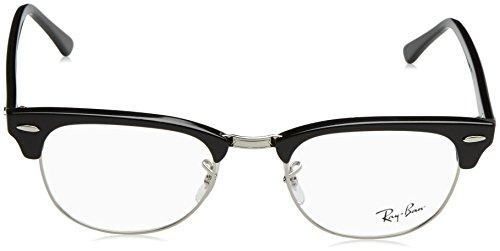 Authentic Ray Ray Eyeglasses Greys Ban 100 Ban Clubmaster RX5154 07dxwSq5