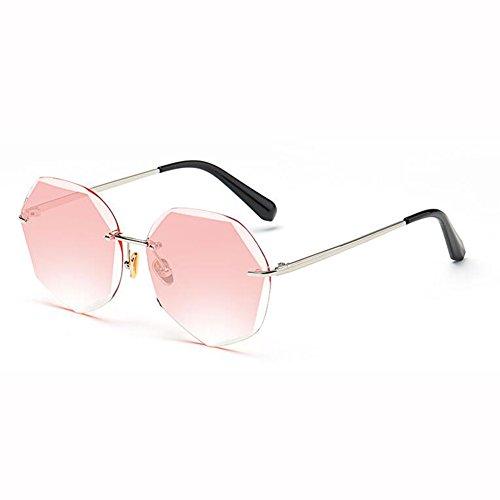 Gafas De Street 3 Sin xin 2 WX De Cara Harajuku Retro Red Redonda Poligonal Marco Net Estilo Gafas Beat Conducción Sol Color axfTwRq