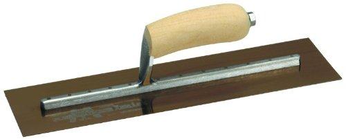 Marshalltown MXS145GS 14 x 5 GS Glättkelle -Gebogener -Gebogener -Gebogener Holzgriff Gold B003A83EJ8 | Gewinnen Sie das Lob der Kunden  0a9317