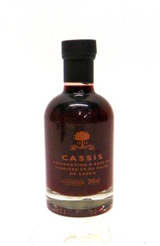 - A L'Olivier Black Currant Fruit Vinegar, 7-Ounce