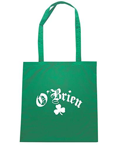 IRISH Borsa Verde CLASSIC TIR0160 Shopper OBRIEN wXg6xSZX