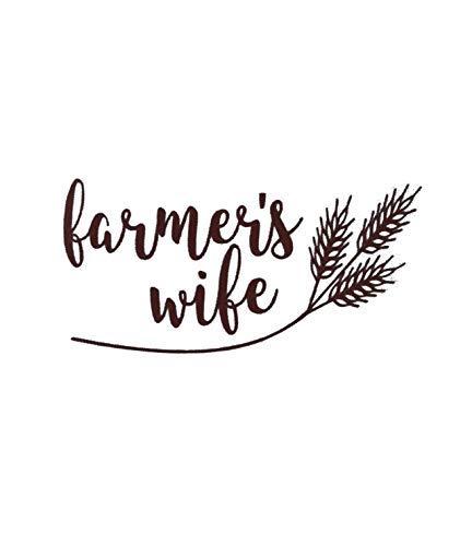 Farmers Wife Vinyl Decal