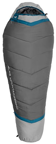 (ALPS Mountaineering Blaze +20 Degree Mummy Sleeping Bag, Regular)