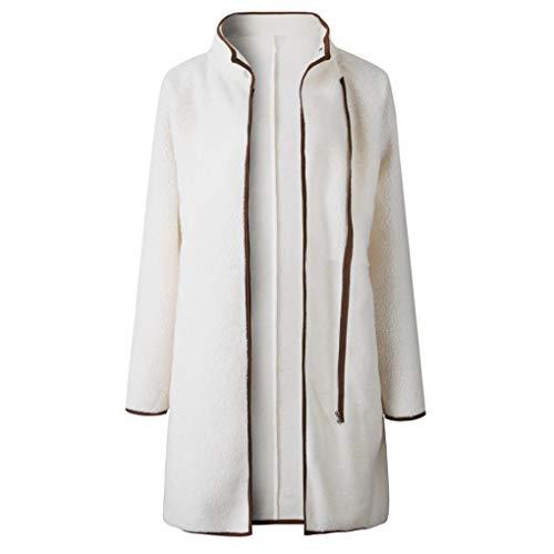 Jacket Australia Costume Straight (URIBAKE Fashion Women Velvet Long Sleeve Solid Top Thicker Outwear Ladies'Coat Jacket Overcoat)