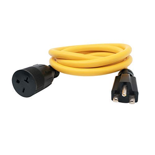 20 amp extension cord 6 feet - 4