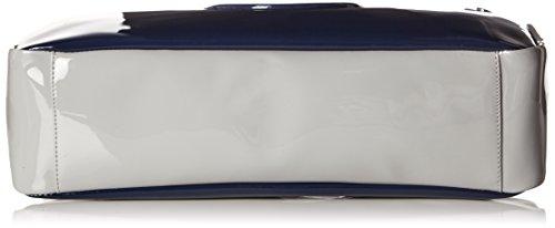 Armani 095208_922548 - Bolso asa de mano Mujer Azul Marino / Gris