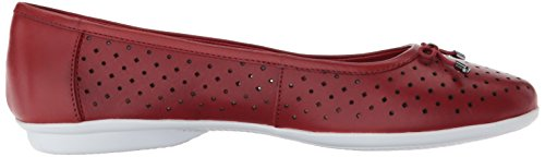 Women's Flat Gracelin Ballet Leather Lea Red CLARKS Bx1qRZwZ