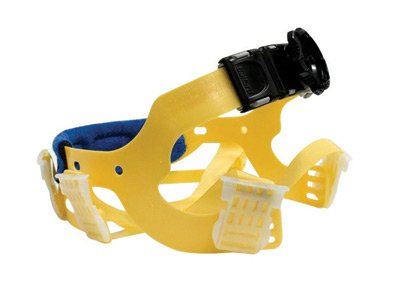 Bullard Yellow Seamless Woven Nylon Flex-Gear Replacement 6 Point Ratchet Suspension With Brow Pad For Use With C30, C33 And C34 Classic Series ()