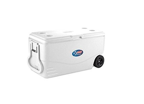 Coleman 100qt Xtreme Wheeled Cooler by Coleman Cable