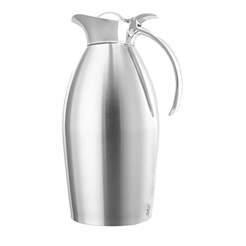 Service Ideas 1.5 Liter Vacuum Insulated Coffee Pot Thermal Carafe With Lid Water Pitcher Stainless Steel