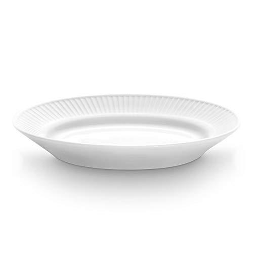 Pillivuyt, Plissé White Porcelain Gravy, Sauce Boat Underplate/Liner Plate ()