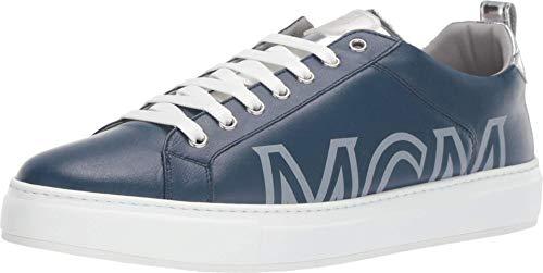 MCM Laurel Group Sneakers Estate Blue 41 (US Men