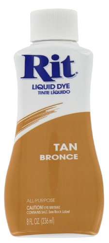 Rit 88160 8 Oz Tan Liquid Dye (Pack of 3)