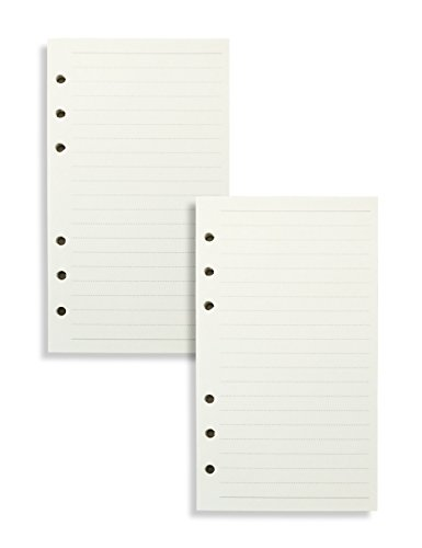 Miliko A6 Planner/Organizer Refills Set-2 Refills Per Pack, 3.7x6.75