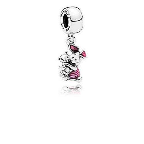 Pandora Sterling Silver Disney's Piglet Dangle Charm 792134EN117