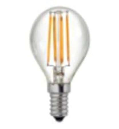 Alverlamp LSFI0414 - Lámpara led esférica filamento 4w e14 2700k
