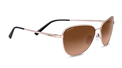 Serengeti 8414 Gloria Drivers Gradient Sunglasses, Shiny Rose - Serengeti Sunglasses Drivers Gradient