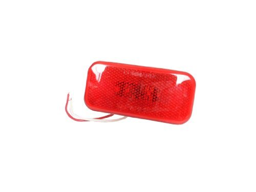 LED Command Clearance Light (Red) by EZ Travel Collection