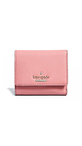 Pink Kate Spade - Kate Spade New York Women's Jackson Street Jada Wallet, Coral Pebble, One Size